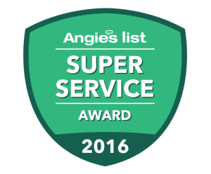 2016 Angie's List Award Winner