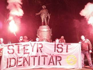 Identitäre in Steyr