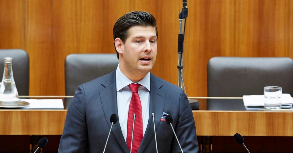 Philipp Schrangl, FPÖ