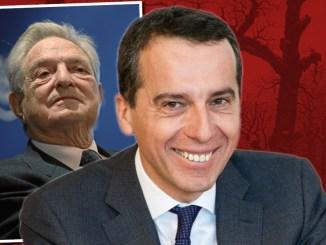 Christian Kern (SPÖ), George Soros