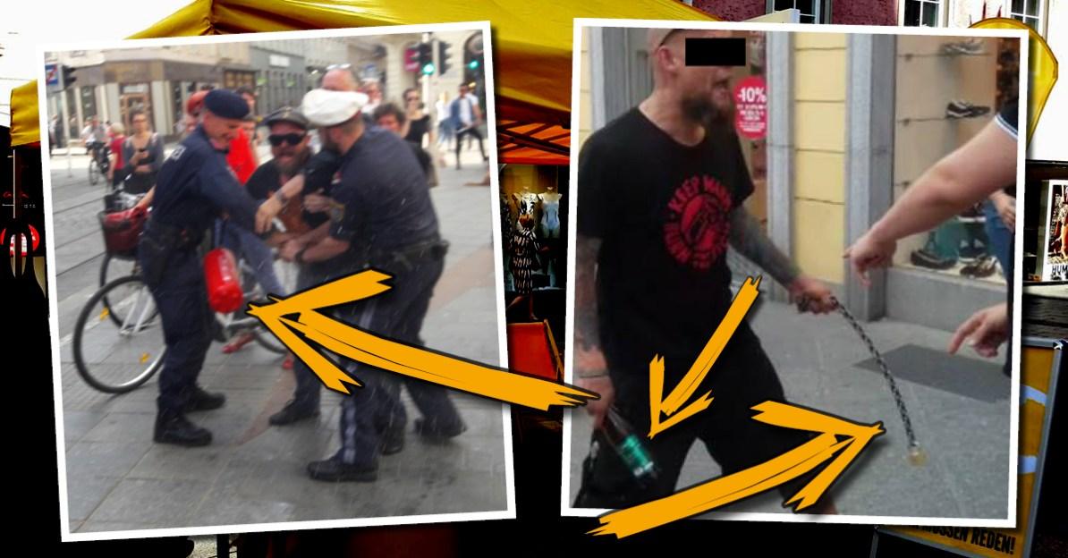 Antifa Überfall in Linz