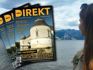 """Printmagazin Info-DIREKT (Ausgabe 20): """"Wir verteidigen unsere Heimat!"""""""