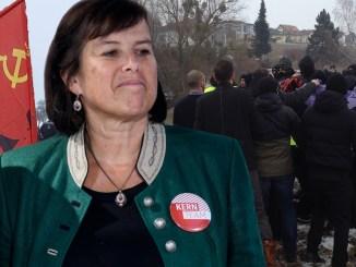 Birgit Gerstorfer, SPÖ Oberösterreich, Antifa, Kommunisten