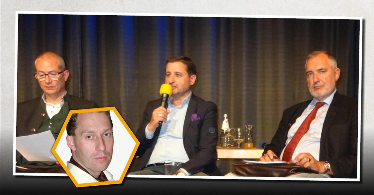 Hansjörg Müller (AfD), Alexander Sosnowski, Ewald Stadler (REKOS)