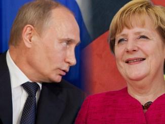 Annäherung zwischen Merkel und Putin