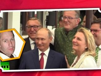 Zu Gast auf Kneissls Hochzeit: Präsident Putin