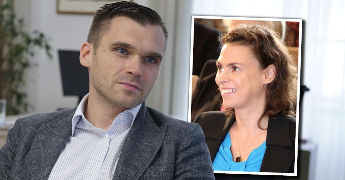 Michael Scharfmüller (Info-DIREKT), Nina Horaczek (Falter)