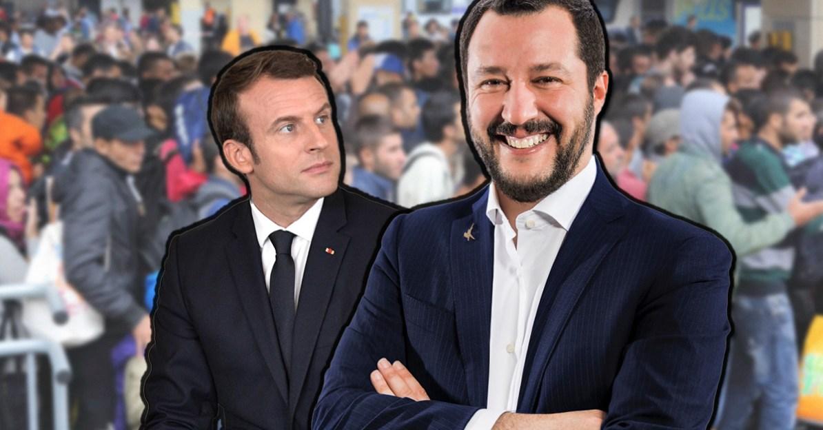 Macron und Salvini