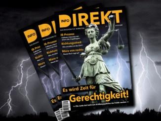 """Magazin Info-DIREKT: """"Es wird Zeit für Gerechtigkeit!"""""""