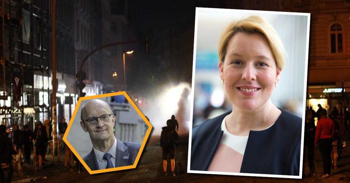 Familienministerin Franziska Giffey unterstützt Antifa-Strukturen.