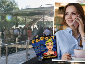 Auf einen Kaffee mit Freilich und Info-DIREKT im Teichwerk Linz
