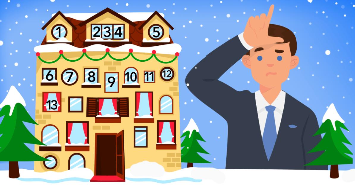 Adventkalender, Tür 12: Wer sich distanziert, verliert!