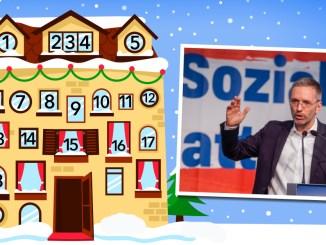 Adventkalender, Tür 18: Regierung mit Kickl sonst starke Opposition
