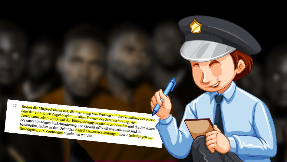 Afrikaner-Entschließung zeigt: EU wünscht sich blinde Polizei!