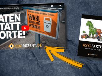 """#Wende2019: Die patriotische NGO """"Ein Prozent"""""""