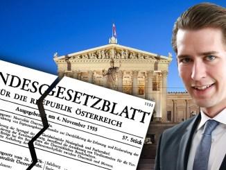 Der ehemalige Spitzenbeamte Manfred Matzka lässt kein gutes Haar an den Corona Gesetzen der Regierung: verfassungswidrig