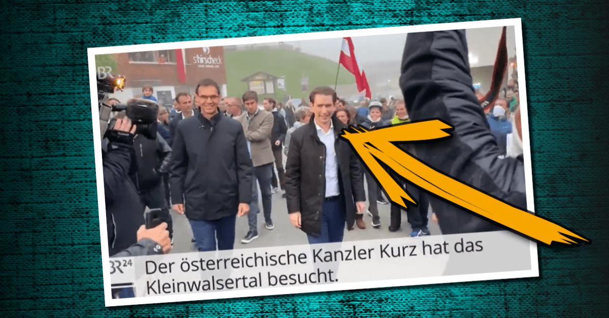 """Lebensgefährder"" Sebastian Kurz missachtet eigene Maßnahmen"