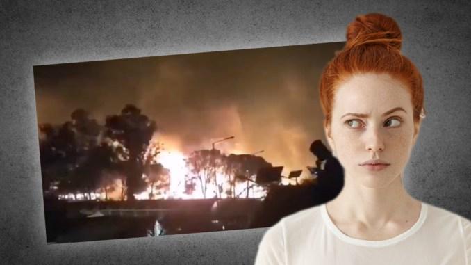 Dass eine große NGO-Aktion in Berlin und der Brand des Lagers zusammenfallen, kann Zufall sein, muss aber nicht.