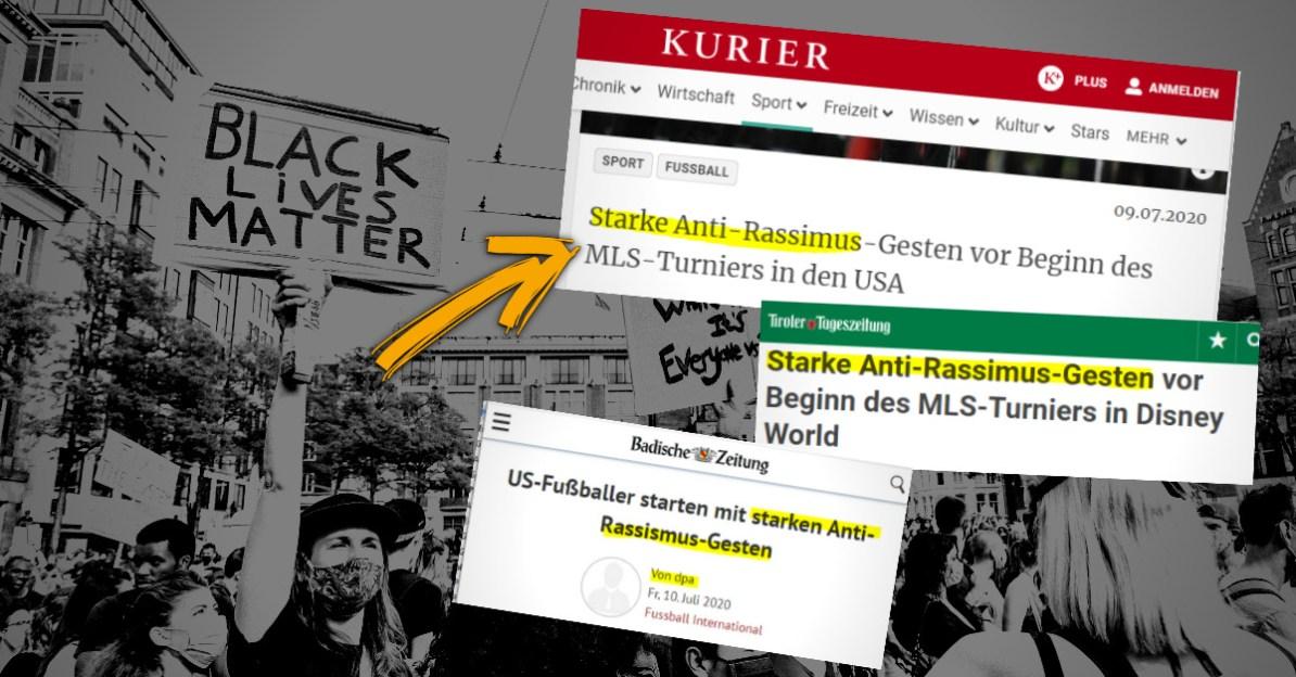 Black Lives Matter: Lügen und Mythen der Medien