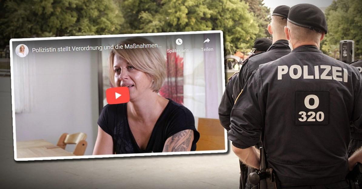 Corona-Wahnsinn: Jetzt bricht erste Polizistin das Schweigen