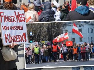 Gute Stimmung bei Demo für Kinderrechte in Linz
