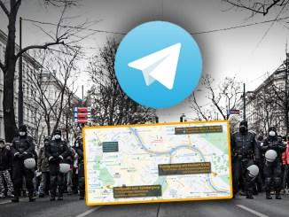 Mega-Demo in Wien erwartet: DIREKT-Berichterstattung auf Telegram