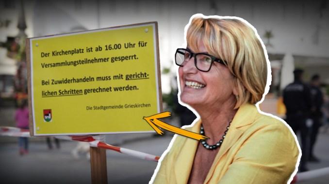 Corona-Demos: ÖVP-Bürgermeisterin Pachner setzt auf Eskalation