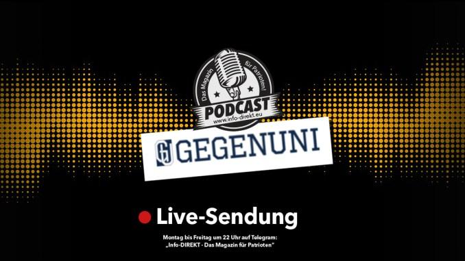GEGENUNI - Das neue Bildungsangebot für Patrioten