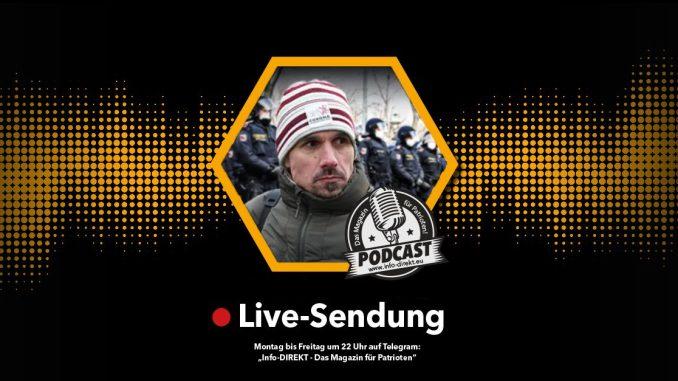 Martin Rutter im Info-DIREKT Live-Podcast