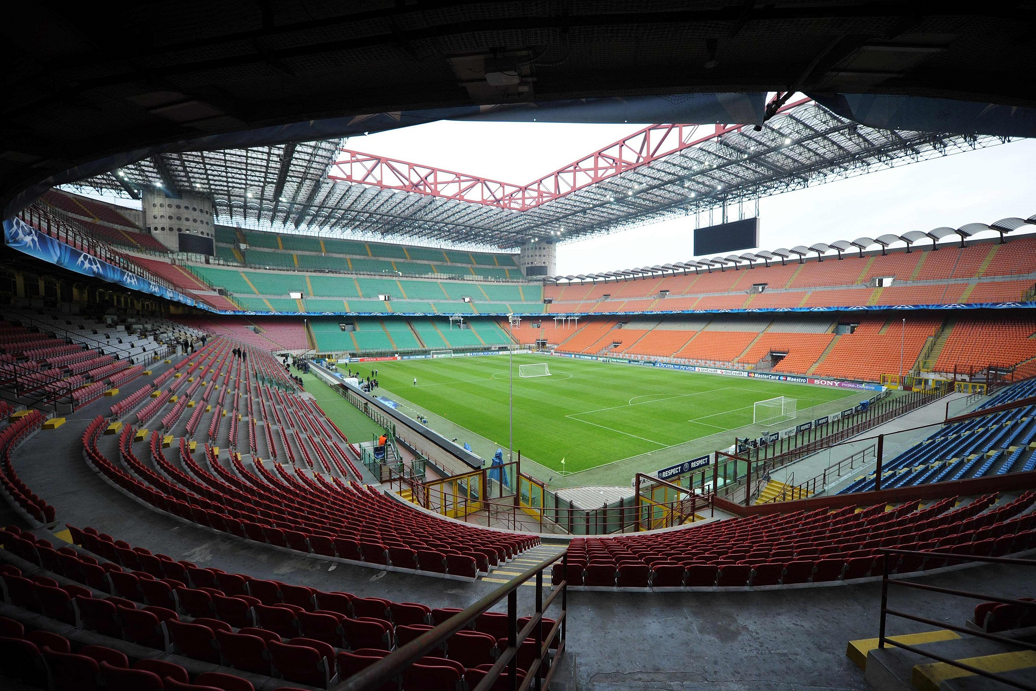 San Siro Giuseppe Meazza Info Stades