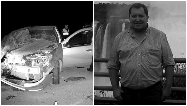 Un hombre oriundo de Alberdi falleció en un accidente en la ruta 308
