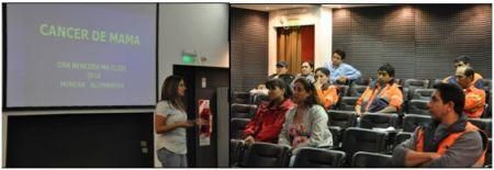 charlas de concienciación en Minera Alumbrera