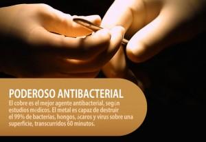 Cobre antimicrobiano