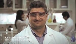 Cristian Sleinman Supervisor de Laboratorio Planta de Filtros