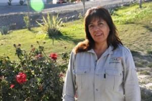 Evangelina trabaja en Maestranza y tiene 3 hijas