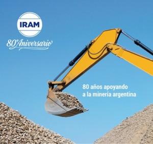 IRAM y su apoyo a la minería Argentina