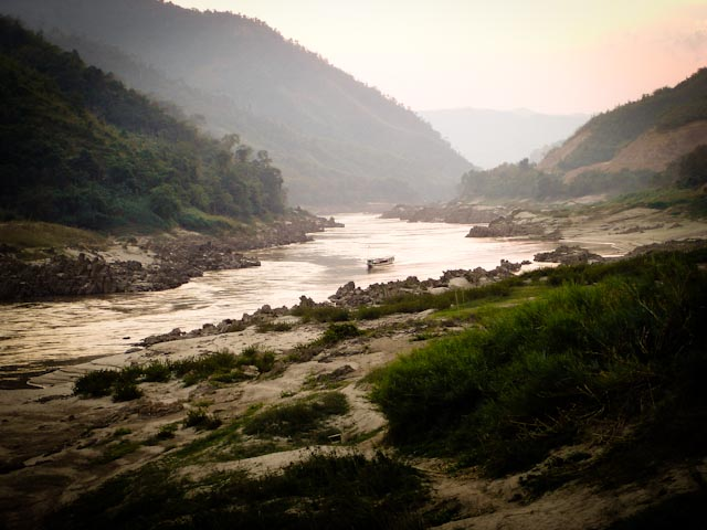 Mekong River. Photo : Camilla Davidsson
