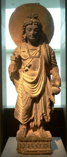 Maitreya, le bouddha salvateur. (Domaine public)