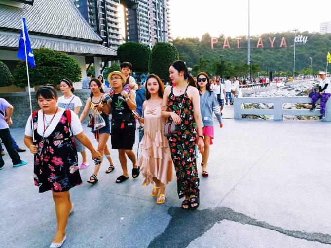 10,5 millions de touristes chinois ont visité la Thaïlande en 2018