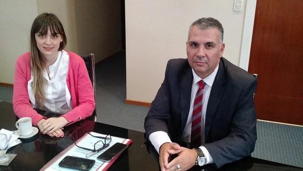 Fernanda Koser y Fernando Ramírez, autoridades del SPF a cargo del IRIC.