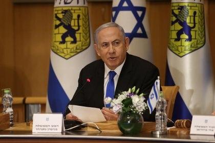 El primer ministro israelí, Benjamin Netanyahu, le informó a su gabinete que no aceptará el alto el fuego propuesto por los terroristas de Hamas a través de Rusia (Reuters)