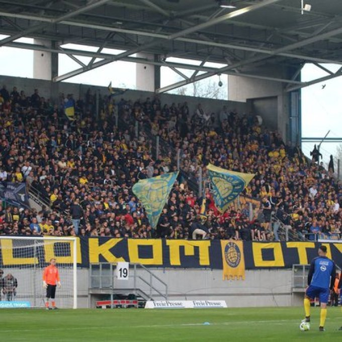 El Lokomotive Leipzig es el club histórico de la ciudad que ahora es representada por el equipo de Red Bull.