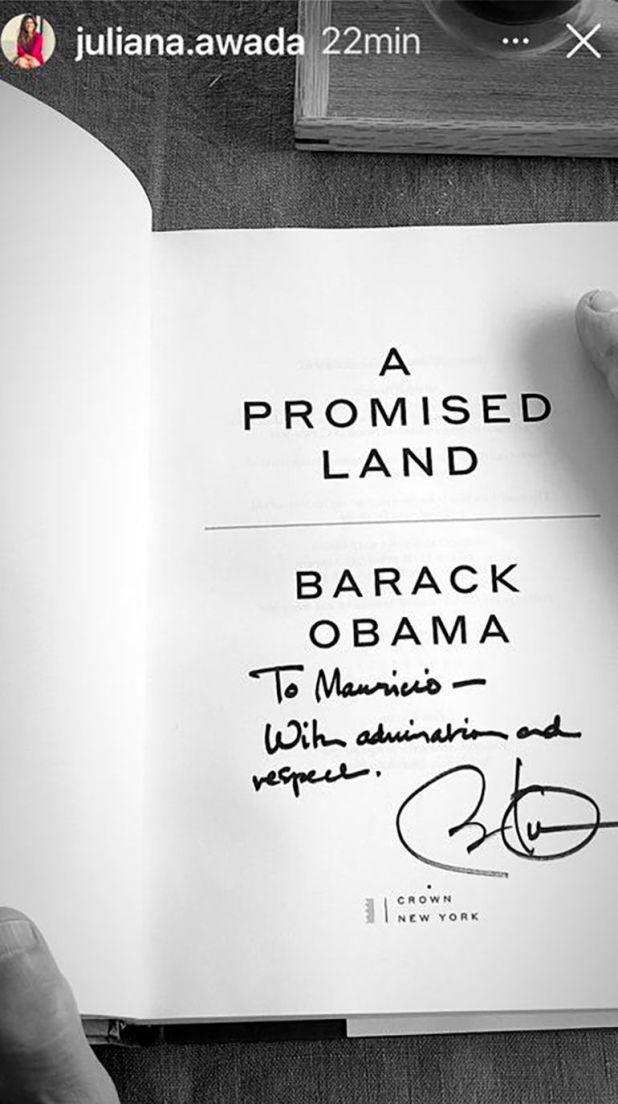 obama libro macri