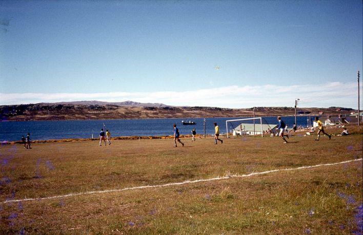Fútbol en Malvinas