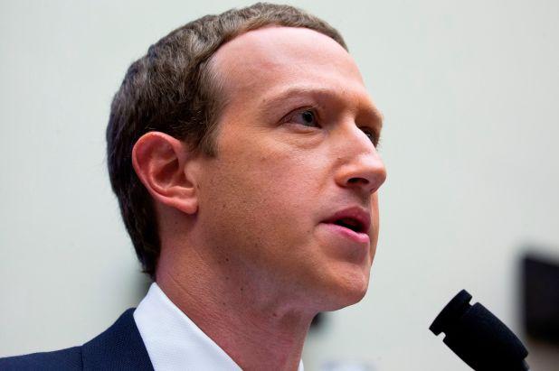 Mark Zuckerberg, CEO de Facebook, compañía de Instagram y WhatsApp. EFE/Michael Reynolds/Archivo