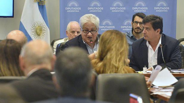 En el plenario de las comisiones de Previsión Social y de Presupuesto que se llevó a cabo este miércoles expusieron el ministro de Trabajo, Claudio Moroni, el director de Anses, Alejandro Vanoli, y representantes de las asociaciones de magistrados y de los trabajadores.