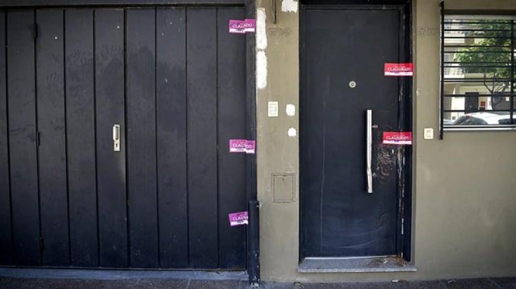 Las oficinas de la calle Pedro Ignacio Rivera al 5700 en el barrio de Villa Urquiza fueron clausuradas