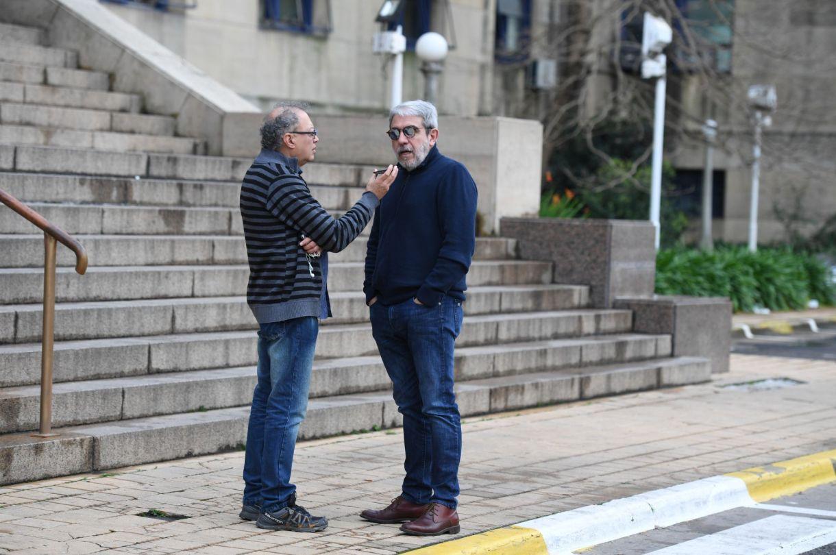 Aníbal Fernández presenció la última audiencia del caso