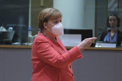 """""""La campaña de vacunación ahora se acelerará cada vez más"""", dijo Angela Merkel en una entrevista con el """"Frankfurter Allgemeine Zeitung"""". Europa Press"""
