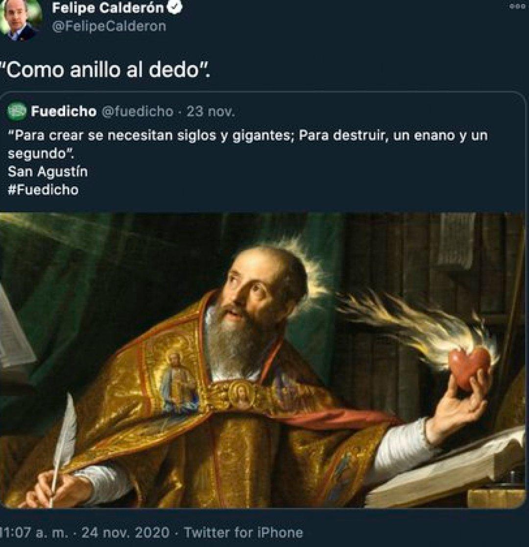 Twitter Felipe Calderon (Foto: Twitter@FelipeCalderon)